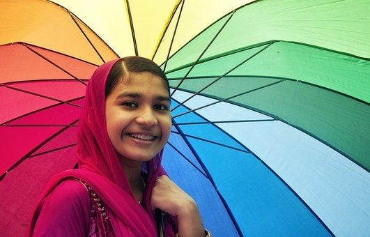 Braces, Rainbow, Smile, Colorful, Happy, Red