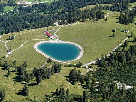 Wiedhagalpe, Oberjoch, Iseler, Reservoir, Water Storage