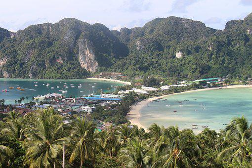Island, Thailand, Nature, Rock, Asia, Holiday, Sea