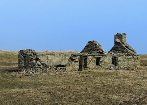 Ruin, Old Building, Old, Building, House, Abandoned