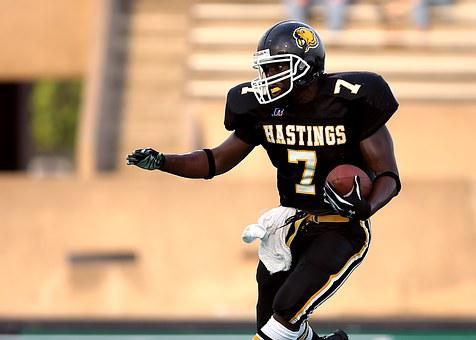 Football, Running Back, Ball Carrier, Athlete, Sport