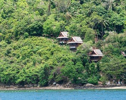 Thailand, Phuket, Koh Phi Phi, Island Tour, Settlement