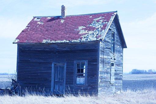 Abandoned Shack, Shack, Old, Abandoned, House, Building