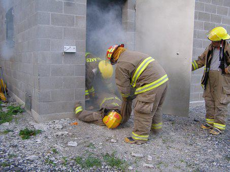 Fire, Firefighter Training, Smokehouse Training