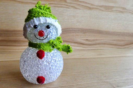 Snowman, Decoration, Christmas, Holiday, Winter, Xmas