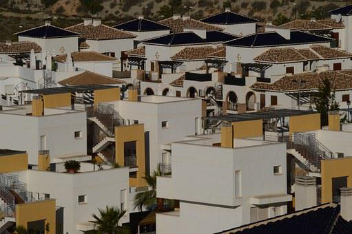 Spain, Houses, Roofs, Tiles, Buildings, Architecture