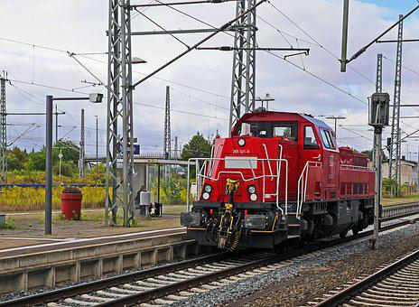 Deutsche Bahn, Diesel Locomotive, Switcher