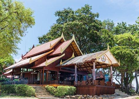 Phi Phi Island Tour, Phuket, Thailand, Architecture