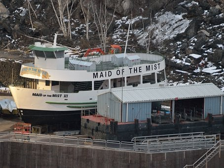 Maid Of The Mist, Tour Boat, Winter Storage, Dry Dock
