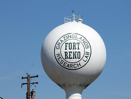 Water Tower, Towers, Water, Storage, Supply, Fort Reno