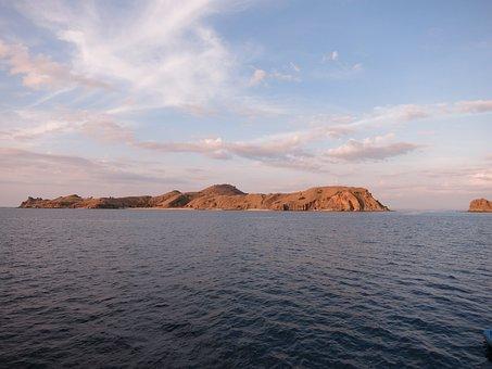 Komodo, Indonesia, National, Island, Park, Tropical