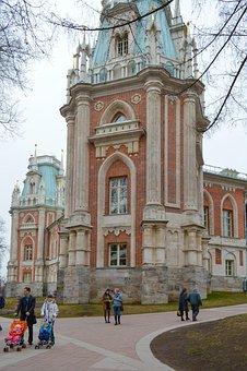 Tsaritsyno, Catherine Palace, Gothic Castle, Palace