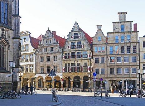 Münster, Westfalen, Principal Market, Drubbel