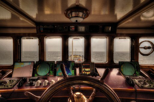 Boat, Steering, Wheelhouse, Nautical, Ship, Wheel