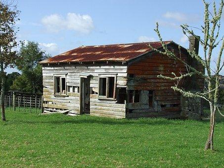 Shack, Abandoned, Shed, Rural, Wood, Wooden, Exterior
