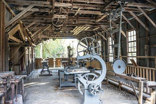Work Shop, Abandoned, Koreshan State Park, Cult