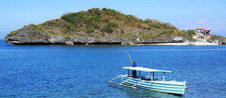 Fishing, Boat, 100 Islands, Luzon, Philippines