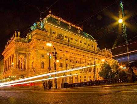 Prague, Museum, Building, Architecture, Historically