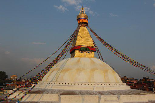 Baudha, Budha, Kathmandu, Nepal, Tourism, Buddhism