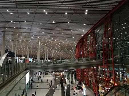 Beijing, Airport, Inside The Terminal Building