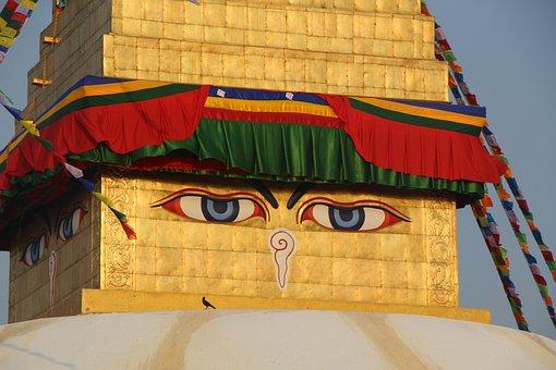 Kathmandu, Nepal, Budha, Boudhanath, Tourism, Buddha