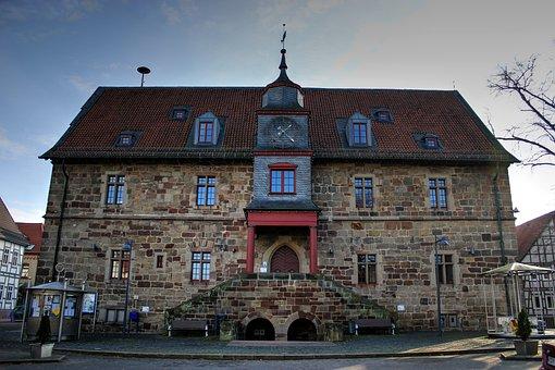 Town Hall, Volkmarsen, Management, Community, Mayor
