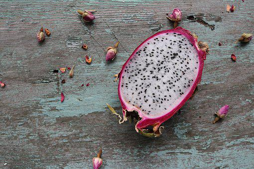 Dragon Fruit, Pitaya, Dragonfruit, Tropical, Delicious