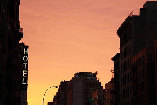 Ny, Nyc, New York, Manhattan, Dusk, Soho