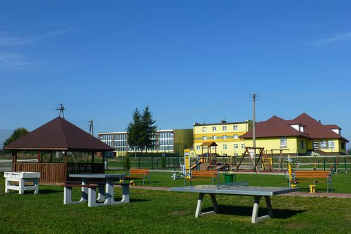 Gym, Pigeons, Posventa, Białostocki District