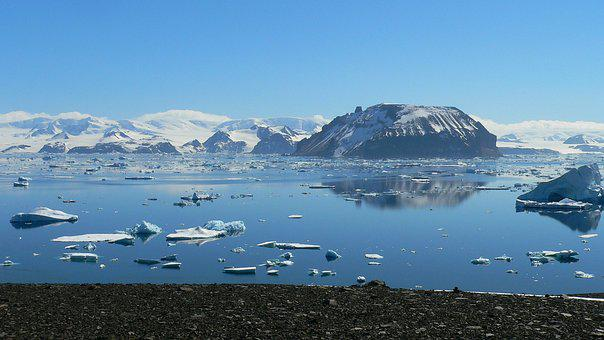 Antarctica, Red Island, Jamess Ross
