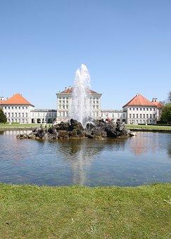 Castle, Nymphenburg, Munich, Bavaria