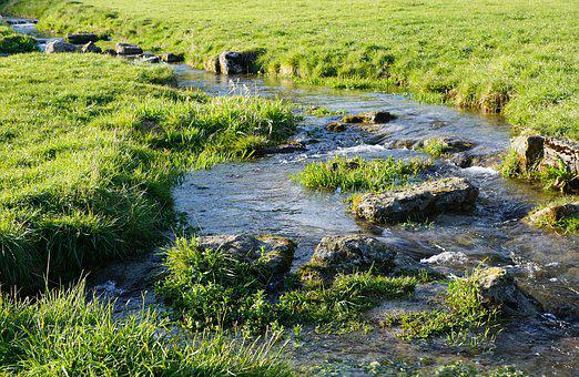 River, Danube, Tuttlingen, Nendingen, Village, Nature