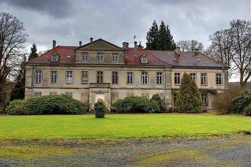 Manor House, Noble, Residence, Country Estate