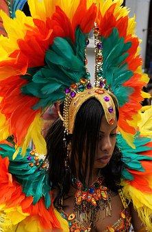 Nottinghill, Carnival, London, Headgear, Costume