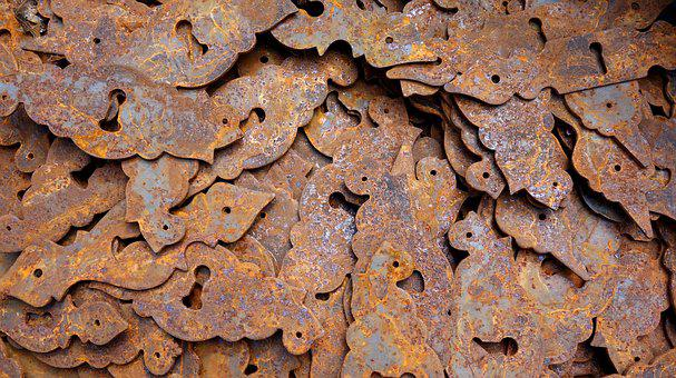 Key Hole, Key Holes, Stainless, Rusty, Old, Metal