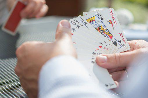 Playing, Cards, Hands, Casino, Game, Poker, Gambling