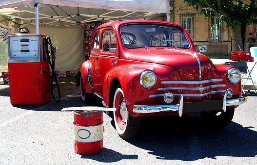 Car, Car Collection, 4cv, Renault
