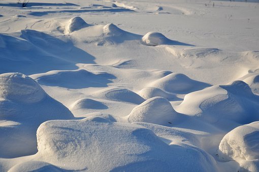 Snow, Snowdrifts, Winter, Frost, Cold, Surface