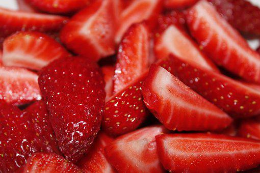 Fruit, Strawberries, Red, Sweet, Greenhouse, Orchard
