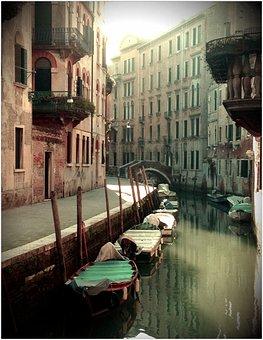 Venice, Holiday, Gondola, Italy, Boating, Citytrip