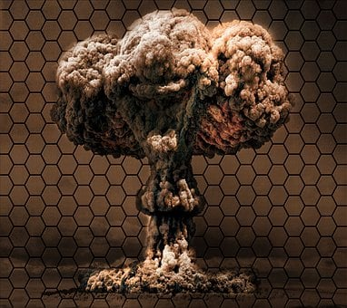 Bomb Honeycomb, Background, Vector