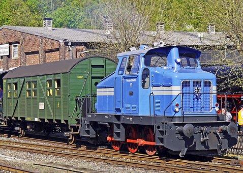 Diesel Locomotive, Werkslok, Henschel, Historically