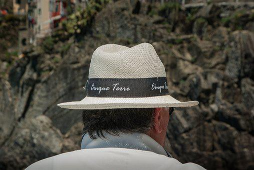 Cinque Terre, Hat, Straw, Hairstyle