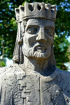 King, Face, Figure, Expression, Head, Sculpture, Male