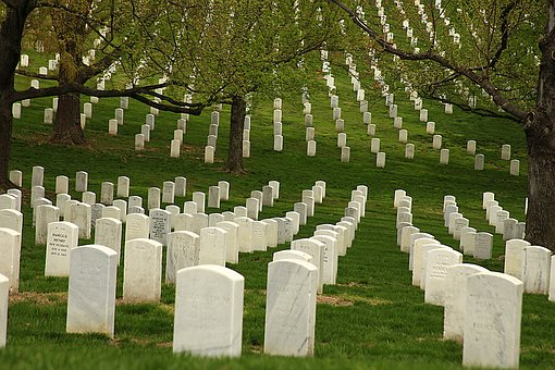 Memorial Day, Graves, Cemetery, Military, American