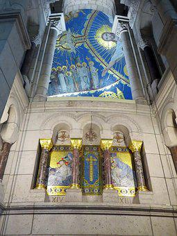 Paris, Montmartre, Basilica, Sacred Heart, Dome