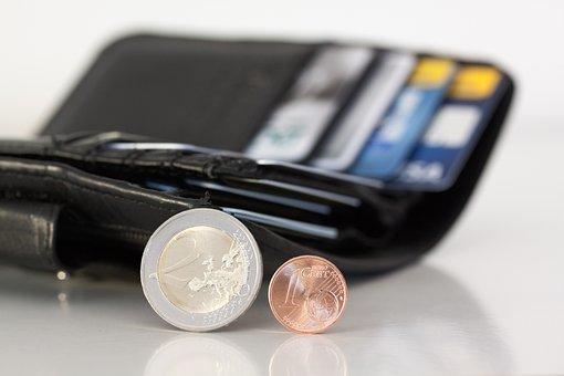 Purse, Coins, Euro, Cent, Money, Loose Change, Specie