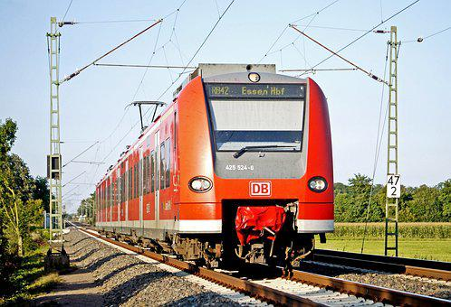 S Bahn, Regional Train, Münsterland, Ruhr Area