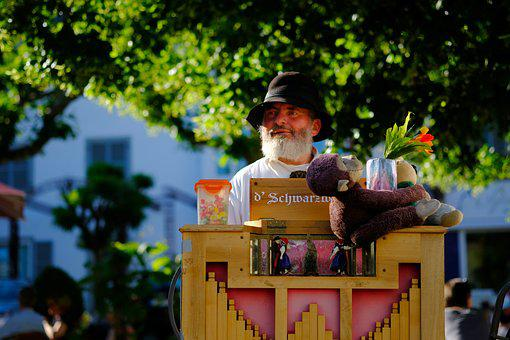 Barrel Organ, Music, Old, Street Organ, Make Music