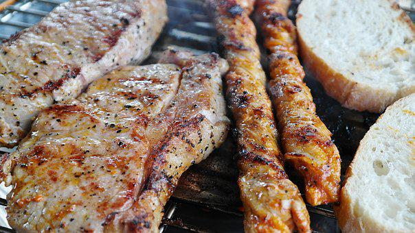 Barbecue, Grill, Steak, Meat, Summer, Benefit From
